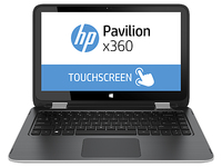 "HP Pavilion x360 13-a050ca 1.7GHz i5-4210U 13.3"" 1366 x 768Pixel Touch screen Argento Ibrido (2 in 1)"