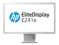 "HP EliteDisplay E241e 24"" IPS Grigio monitor piatto per PC"