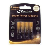 Contour Design Super Power 4 Alkaline AAA Alcalino batteria non-ricaricabile