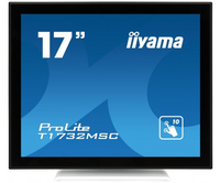 "iiyama ProLite T1732MSC-W1X 17"" 1280 x 1024Pixel Multi-touch Nero, Bianco monitor touch screen"