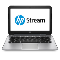 "HP Stream 14-z000na 1GHz A4 Micro-6400T 14"" 1366 x 768Pixel Argento Computer portatile"