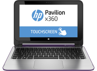"HP Pavilion x360 11-n010na 2.16GHz N3540 11.6"" 1366 x 768Pixel Touch screen Porpora Ibrido (2 in 1)"