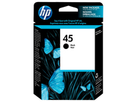 HP 45A 40ml Nero cartuccia d