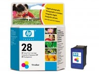 HP 28 Tri-colour Inkjet Print Cartridge Ciano, Giallo cartuccia d