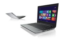 "Toshiba Satellite NB10t-A-115 2.16GHz N2830 11.6"" 1366 x 768Pixel Touch screen Metallico Computer portatile"