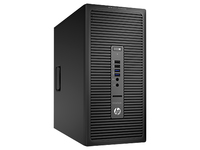 HP EliteDesk 705 G1 3.5GHz A8-6500B Microtorre Nero PC