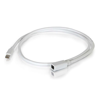 C2G 3.0m Mini DisplayPort M/F 3m Mini DisplayPort Mini DisplayPort Bianco