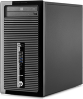 HP ProDesk 405 G1 1.5GHz A4-5000 Microtorre Nero PC
