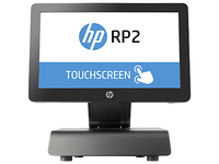 "HP RP2 Retail System Model 2000 2GHz J1900 14"" Touch screen terminale POS"