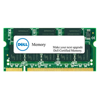 DELL 2GB DDR3L SDRAM SO-DIMM 204-pin 1600MHz 2GB DDR3 1600MHz memoria