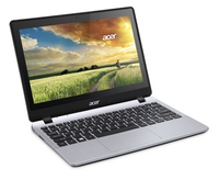 "Acer Aspire V3-112P 2.16GHz N2840 11.6"" 1366 x 768Pixel Touch screen Nero, Grigio Computer portatile"