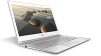 "Acer Aspire S7-392-54208G12tws 1.6GHz i5-4200U 13.3"" 2560 x 1440Pixel Touch screen Argento, Bianco Computer portatile"