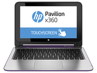 "HP Pavilion x360 11-n020na 2.16GHz N2840 11.6"" 1366 x 768Pixel Touch screen Porpora Ibrido (2 in 1)"