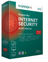 Kaspersky Lab Internet Security - Multi-Device 2015, 3U Full license 3utente(i)