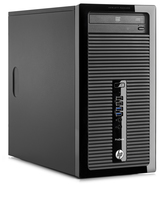 HP ProDesk 400 G1 3.4GHz G3450 Microtorre Nero PC