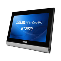 "ASUS ET ET2020IUKI-B032K 2.6GHz G2030T 19.5"" 1600 x 900Pixel Nero, Argento PC All-in-one All-in-One PC"