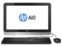 "HP 22-2005nb 1.8GHz A4-6210 21.5"" 1920 x 1080Pixel Touch screen Argento PC All-in-one"