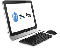 "HP 21-2010 1.8GHz A4-6210 21.5"" 1600 x 900Pixel Touch screen Argento PC All-in-one"