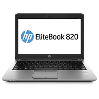 "HP EliteBook 820 G1 1.7GHz i5-4210U 12.5"" 1366 x 768Pixel Touch screen Nero, Argento Computer portatile"