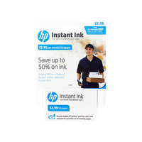 HP Instant Ink - 1st Month Enrollment Card - POSA/GB - 50-page plan cartuccia d