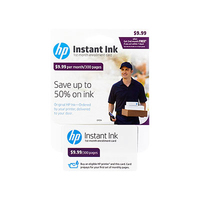 HP Instant Ink - 1st Month Enrollment Card - POSA/GB - 300-page plan cartuccia d