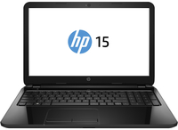 "HP 15-r150nr 1.7GHz i3-4005U 15.6"" 1366 x 768Pixel Touch screen Nero Computer portatile"