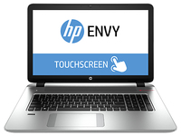 "HP ENVY 17-k141nd 2GHz i7-4510U 17.3"" 1920 x 1080Pixel Touch screen Argento Computer portatile"