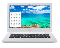 "Acer Chromebook CB5-311P-T730 2.1GHz CD570M-A1 13.3"" 1366 x 768Pixel Touch screen Bianco Chromebook"