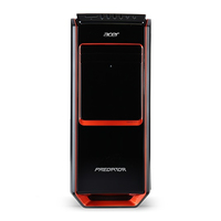 Acer Predator G3-605 3.2GHz i5-4460 Mini Tower Nero, Rosso PC