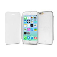 V7 Custodia Flip per iPhone 6 - Bianco