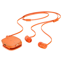 HP H5000 Neon Orange Bluetooth Headset Auricolare Stereofonico Bluetooth Nero auricolare per telefono cellulare