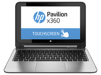 "HP Pavilion x360 11-n088nf 2.16GHz N2840 11.6"" 1366 x 768Pixel Touch screen 3G Grigio, Argento Ibrido (2 in 1)"