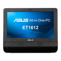 "ASUS ET 1612 1.6GHz 1017U 15.6"" 1366 x 768Pixel Touch screen Nero PC All-in-one"