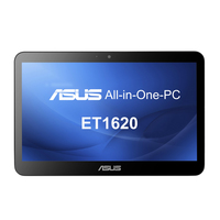 "ASUS ET1620IUTT 2GHz J1900 15.6"" 1366 x 768Pixel Touch screen Nero PC All-in-one"