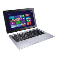 "ASUS Transformer Book T300LA-C4032P 1.8GHz i7-4500U 13.3"" 1920 x 1080Pixel Touch screen Nero, Argento Ibrido (2 in 1)"