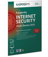 Kaspersky Lab Internet Security - Multi-Device 2015 Full license 3utente(i) 1anno/i Tedesca