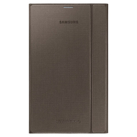 "Samsung Book Cover 8.4"" Custodia a libro Marrone"