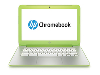"HP Chromebook 14-x004nd K1 14"" 1366 x 768Pixel Verde, Argento Chromebook"