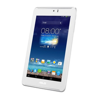 ASUS Fonepad 7 ME372CL 8GB 3G 4G Bianco tablet