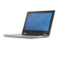 "DELL Inspiron 20 1.7GHz i3-4010U 11.6"" 1366 x 768Pixel Touch screen Nero, Argento Ibrido (2 in 1)"
