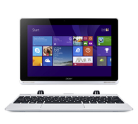"Acer Aspire Switch 10 SW5-012P 1.33GHz Z3735F 10.1"" 1280 x 800Pixel Touch screen Argento Ibrido (2 in 1)"