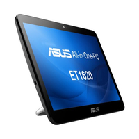 "ASUS ET 1620IUTT-W09S 2GHz J1900 15.6"" 1366 x 768Pixel Touch screen Nero, Bianco PC All-in-one"