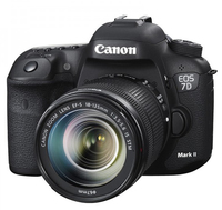 Canon EOS 7D Mark II + EF-S 18-135mm Kit fotocamere SLR 20.2MP CMOS 5472 x 3648Pixel Nero