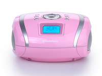 AudioSonic RD-1566 Portatile Digitale Rosa radio
