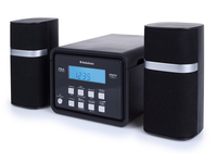 AudioSonic HF-1251 Home audio micro system 6W Nero set audio da casa