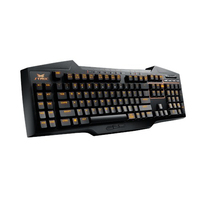 ASUS Strix Tactic Pro USB QWERTY Danese, Finlandese, Norvegese, Svedese Nero tastiera
