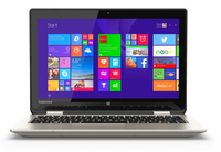 "Toshiba Satellite Radius 11 L15W-B1310 2.16GHz N2840 11.6"" 1366 x 768Pixel Touch screen Oro Ibrido (2 in 1)"