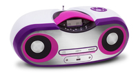 Bigben Interactive CD54 Digitale Rosa, Bianco radio CD