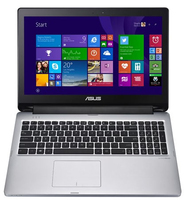 "ASUS Transformer Book TP550LA-CJ028H 1.9GHz i3-4030U 15.6"" 1366 x 768Pixel Touch screen Nero, Argento Ibrido (2 in 1)"