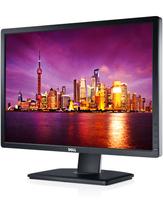 "DELL UltraSharp U2412M 24"" IPS Nero, Argento monitor piatto per PC"